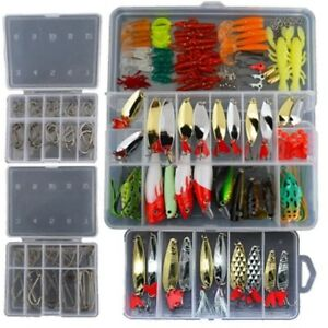 New 226Pcs Set Fishing Lure Tackle Kit with Top Quality Fishing Tackle Box