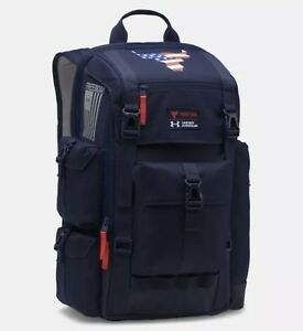 Under Armour UA x Project Rock Freedom Regiment Backpack Bag USA