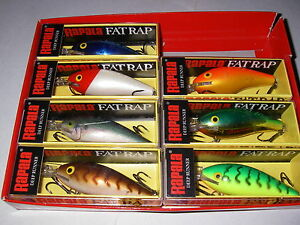 Rapala  Fat Rap 7  Limited Edition    Set of 7   Hard to find