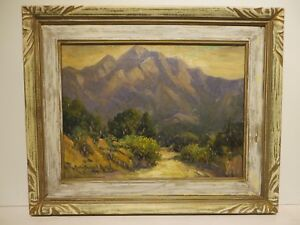 12x16 org.1927 oil painting by Rolla Taylor of