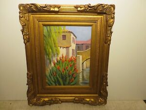 16x12 original oil painting by Rolla Taylor of