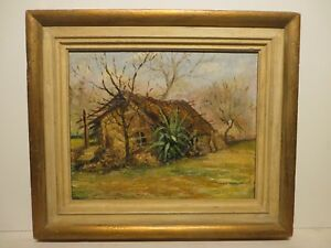 12x15 org. 1925 oil painting by Rolla Taylor of