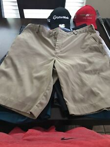 Nike Tiger Under Armour Golf Shorts Lot 34 35 36 New