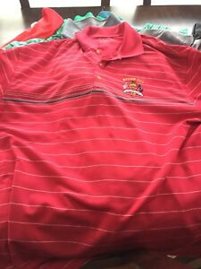 Nike Tiger Under Armour Linksoul Golf Polo Lot L XL New