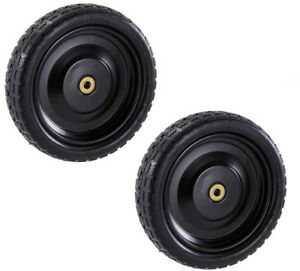 Outdoor Cart Wagon Utility 13in No Flat Replacement Tire for Gorilla Carts 2Pack