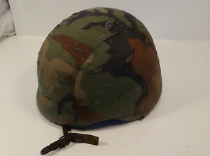 PASGT made w Kevlar army helmet size large
