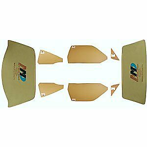 Auto Metal Direct 499-1471-TS Complete Glass Set 1971 Plymouth GTX