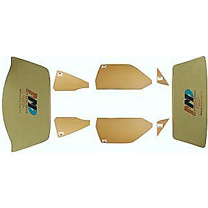 Auto Metal Direct 499-1373-TS Complete Glass Set 1973-74 Plymouth Duster