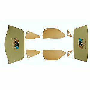 Auto Metal Direct 499-1374-TS Complete Glass Set 1974-76 Plymouth Duster Tinted