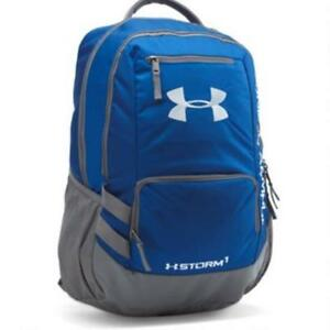 NEW Under Armour Storm Hustle II Backpack Royal Blue