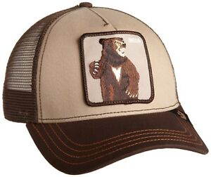8fc703bce7038 Goorin Bros. Men s Animal Farm Snap Back Trucker Hat Brown Bear One Size