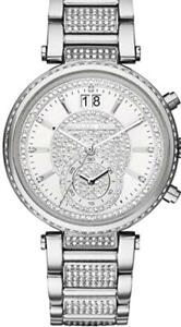 Michael Kors Women's Chronograph Sawyer  Stainless Crystal Bracelet Watch MK6281