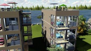 6-PLEX  2Bd2Bth  3840 sq.ft Apartment Shipping Container- Seller Financing!