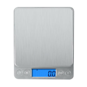 Digital Scale 3000g x 0.1g Jewelry Gold Silver Coin Gram Pocket Size Herb Grain $11.95