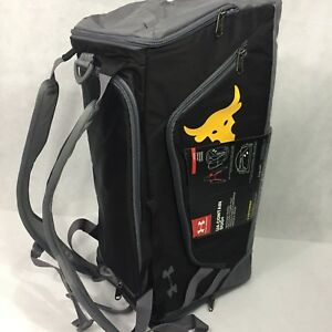 Under ARMOUR UA Project Rock contain duo + range duffle bag backpack