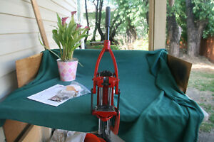 FORSTER CO-AX RELOADING PRESS W EXTRAS  L&S SHELL PLATE LED LIGHTS  EXCELLENT