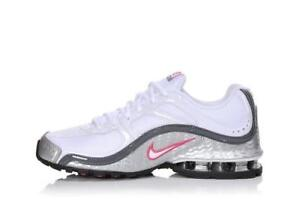 407987 116 NIKE REAX RUN 5 Women#x27;s Shoes White Pink Pick Size NEW IN BOX