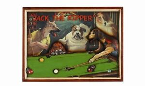 Wooden Jack The Ripper Dog Pub Sign 3D Art with FREE Shipping