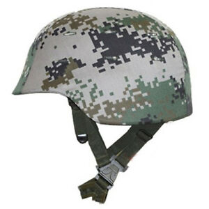 Tactical Ballistic Bullet Proof Military Helmet + Camouflage Cover