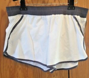NWT Womens C9 Champion Athletic Running Exercise Shorts Inner Duo Dry White XL