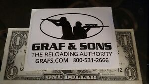 GRAF & SONS AMMO RELOADING TACTICAL RARE Glossy Sticker
