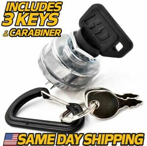 Starter Ignition Switch Replaces Scag 48798 w UMBRELLA KEY UPGRADE