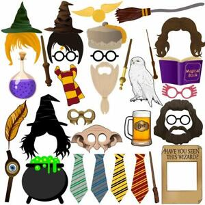 Harry Potter Photo Booth Props For Harry Potter Party Supplies Decoration -37pcs