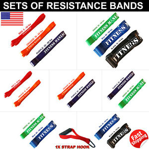 Powerlifting Resistance bands Set Trainers Pull Up Assist Mobility