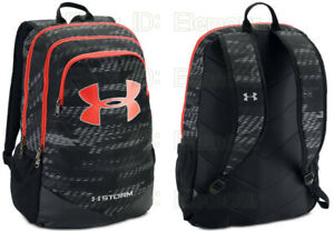 Under Armour Boys UA Storm Scrimmage Backpack 1277422 blackred