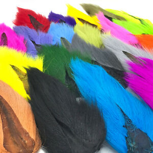 HARELINE LARGE NORTHERN BUCKTAIL Fly Tying Jigs Teasers Lures Deer Tail Hair $7.99