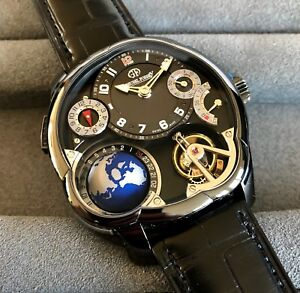 GREUBEL FORSEY GMT ADLC TOURBILLON GF05 GLOBE-RETIL PRICE $565,000