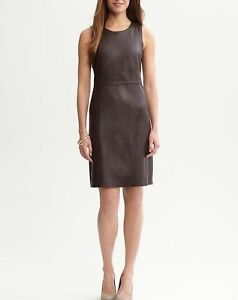 Spring Designer Lamb New Leather Women Dress Cocktail Stylish Party Wear  D-155