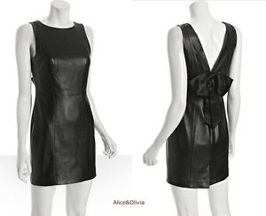Spring Designer Lamb New Leather Women Dress Cocktail Stylish Party Wear  D-101