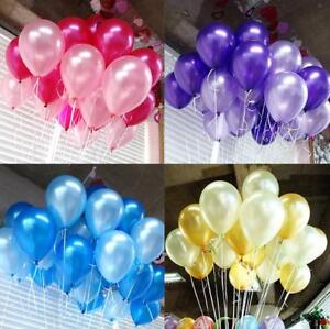 100-10000 PCS Birthday Wedding Baby Shower Party Pearl Latex Balloons 10