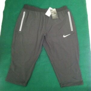 NEW wtag NIKE FLEX (Great design) RUNNING CAPRIPANTSSHORTS. SIZE: Men's L
