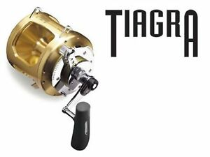 Shimano Tiagra 20 A 2 Speed Offshore Multiplier Saltwater Trolling Fishing TI20A