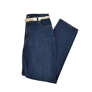 Lee Women's Dark Wash Classic Fit Jeans In Various Sizes