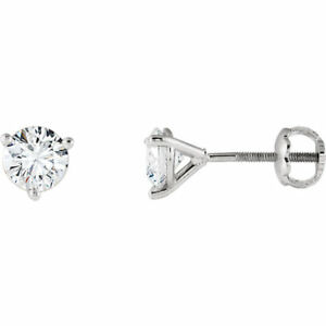 Riente Diamond Cocktail-Style Stud Earrings In Platinum (14 ct. tw.)