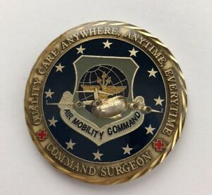 Air Mobility Command SER# 150 Command Surgeon's Coin for Excellence B12