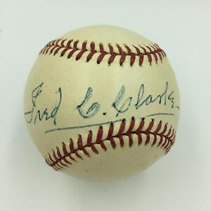 The Finest Fred Clarke Single Signed Baseball On Earth With PSA DNA COA