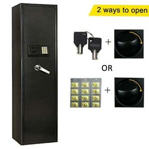 FCH Electronic 5 Rifle Gun Safe Large Firearms Storage Cabinet with Lock Box US $182.99