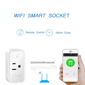 WIFI Plug Smart Power Wireless Switch Socket Timer For Alexa Google Home LED LOT
