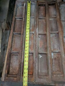 Heavy Cast Iron  Lead Ingot Mold  28-12