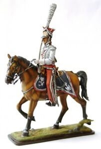 Polish Lancer Сolonel Cavalry of Old Guard №3 54mm Tin Toy Soldier  Collectible
