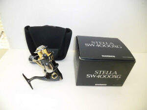 Shimano 13 STELLA SW4000XG Used From Japan