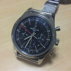2000 limited edition Breitling Transocean GMT from japan