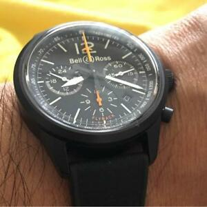 Bell & Ross Black Bird fly back Chrono 500 limited edition from japan