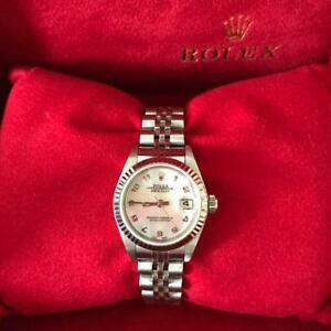 Rare Rolex Pink Shell Ladies Datejust  products from japan (6214