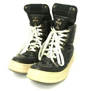 Chrome Hearts Rick Owens Geo Basket High-Top Sneakers 42 1 010818 Scan (40031