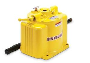 Enerpac P-50 Single Speed Low Pressure Hand pump w 5000 Pounds Per Square Inch